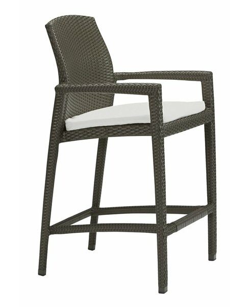 Evo 29.5 Patio Bar Stool with Cushion by Tropitone
