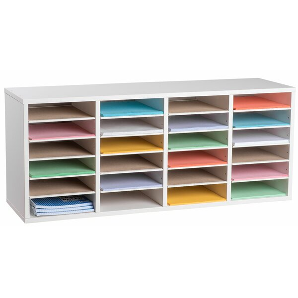 500 Series 24 Compartment Organizer By Adiroffice.