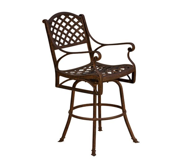 La Jolla Patio Bar Stool (Set of 2) by California Outdoor Designs