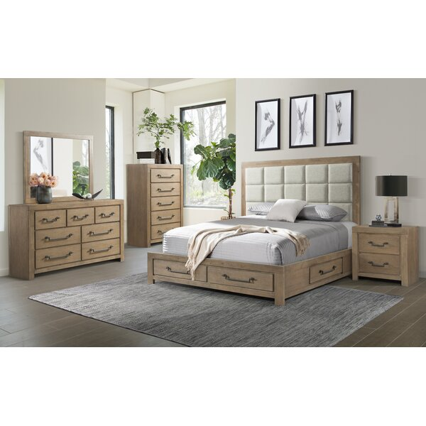Schwab Platform Configurable Bedroom Set by Gracie Oaks