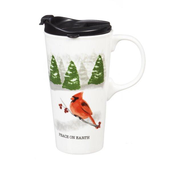 Theresa Peace on Earth Travel Mug by The Holiday Aisle