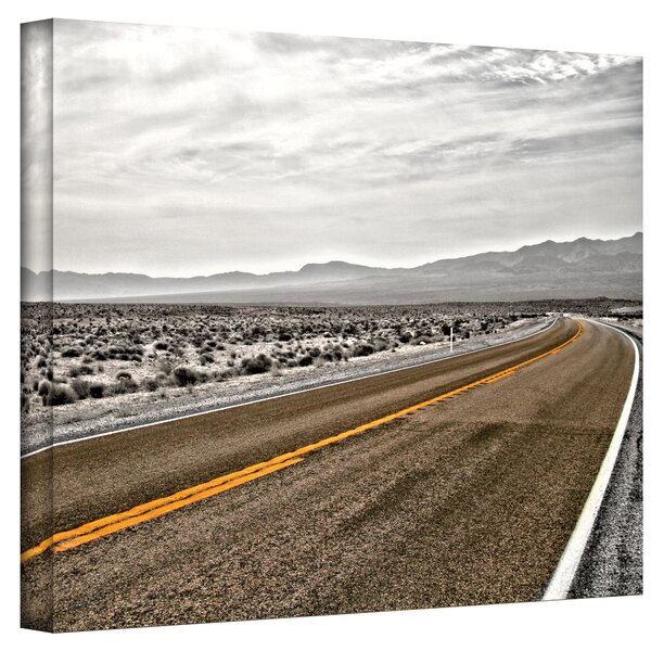 ''Slow Curves'' by Mark Ross Photographic Print on Canvas by ArtWall