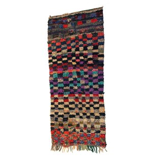 Find the perfect Boucherouite Azilal Hand-Woven Black/Ivory Area Rug ByCasablanca Market