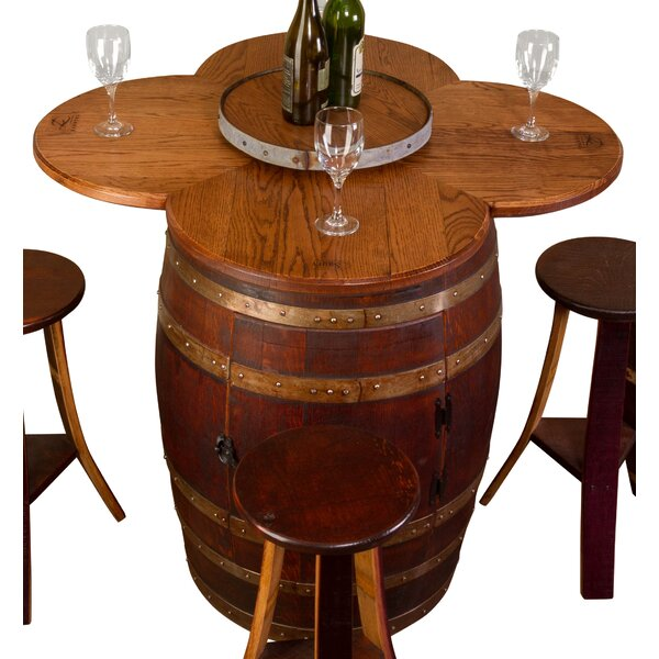Modern Wine Barrel 6 Piece Dining Set By Napa East Collection Purchase