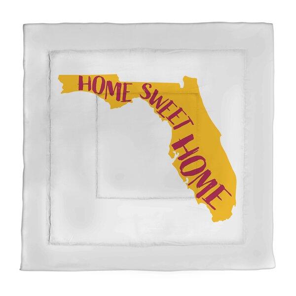 Florida Home Sweet Single Reversible Comforter