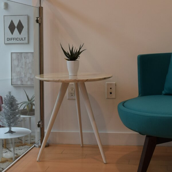 Airfoil End Table by m.a.d. Furniture