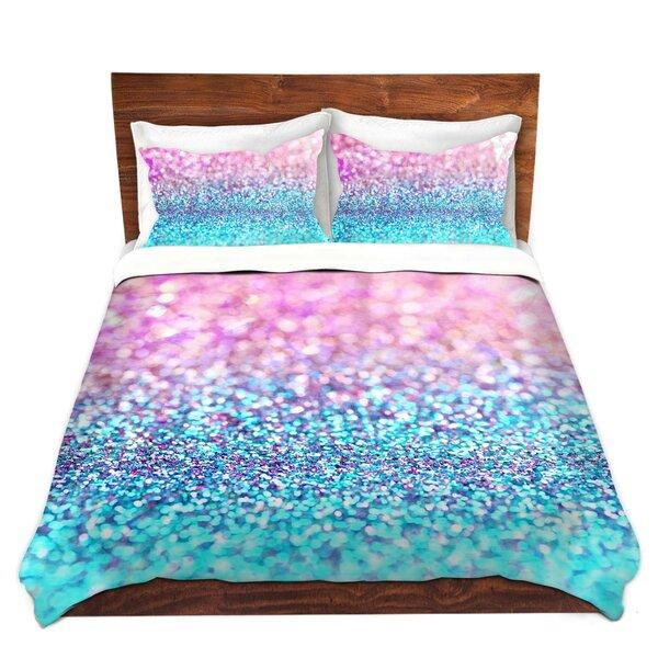 Pastel Glitter Duvet Cover Set