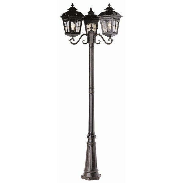 Freeborn 3-Light 86 Post Light by Darby Home Co