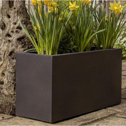 Kimberlin Trough Planter Box Sol 72 Outdoor Size: H40 x W80