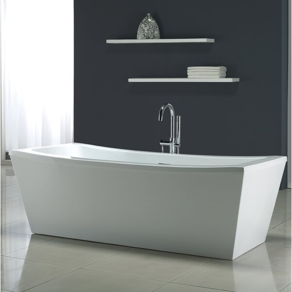Terra 70 x 34.25 Soaking Bathtub by Ove Decors