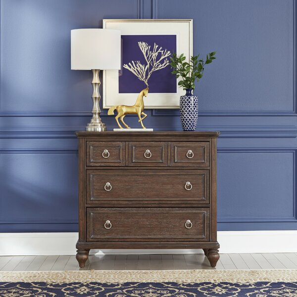 Caitlynn 3 Drawer Chest by Longshore Tides