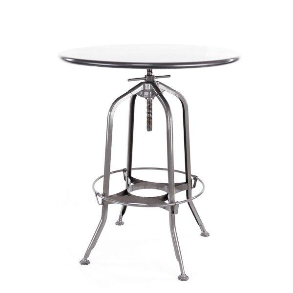 Desrochers Adjustable Pub Table by Williston Forge