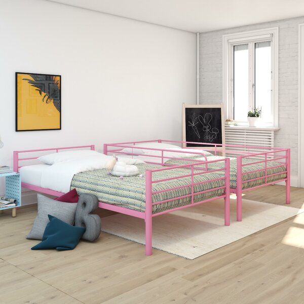 Jiminez Twin Over Twin Bunk Bed by Harriet Bee
