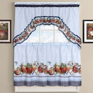 Genial Delicious Apples Kitchen Curtains