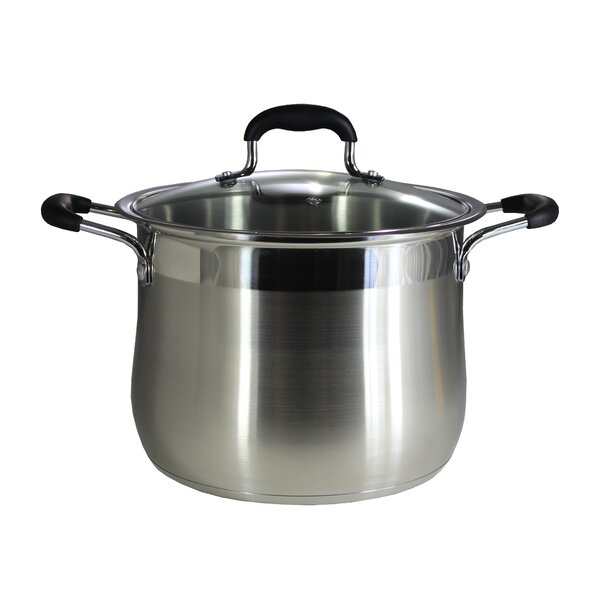 Stainless Steel Stock Pot with Lid by Concord Cookware