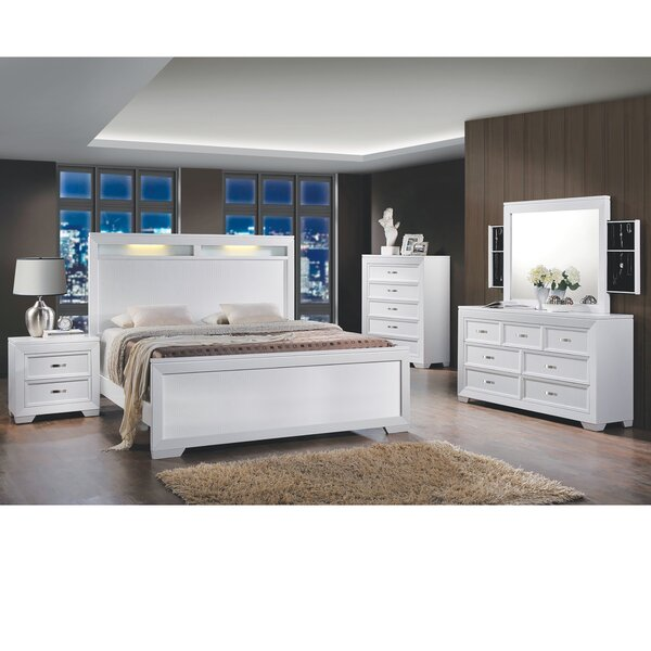 Scalf Queen Panel 6 Piece Bedroom Set by Orren Ellis