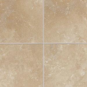 Sandalo 18'' x 18'' Ceramic Field Tile in Acacia Beige