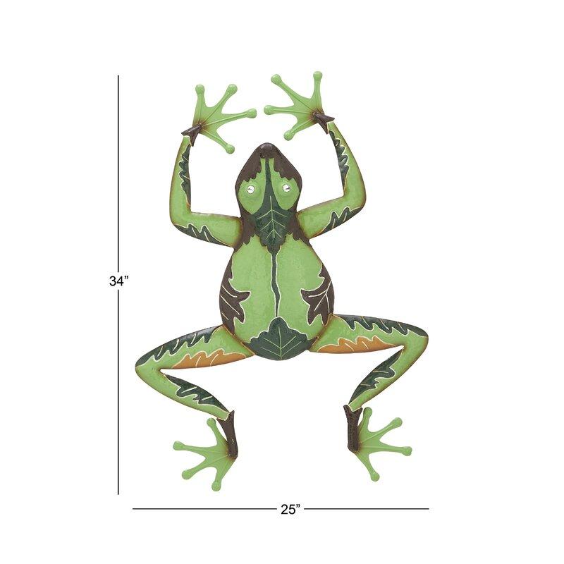 Cole & Grey Frog Wall Décor   Wayfair
