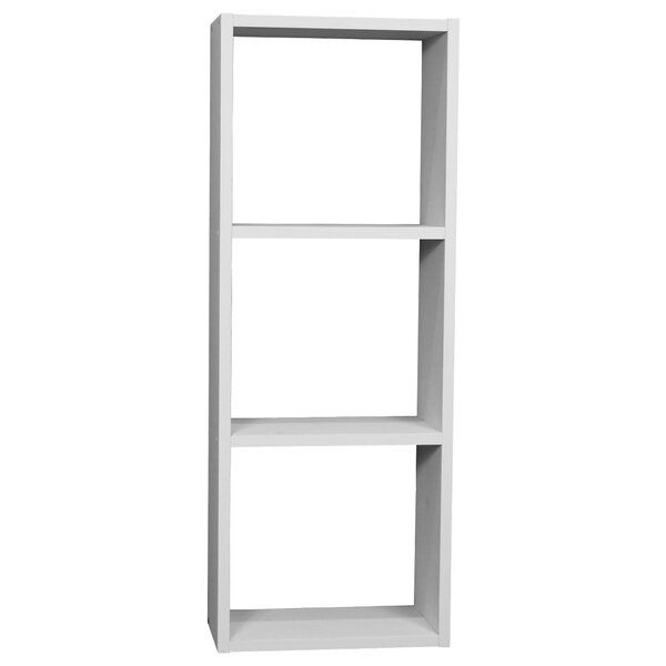 Cerralvo 3-Shelf Cube Storage Stackable Standard Bookcase by Brayden Studio