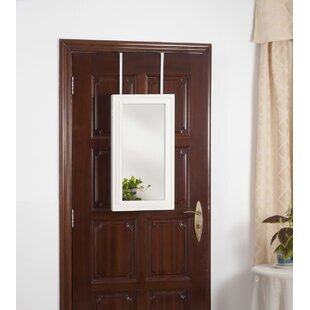 Fantine Over the Door Jewelry Armoire with Mirror by Ebern Designs