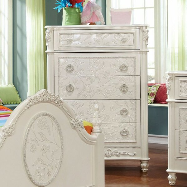 Shaima 5 Drawer Chest by Harriet Bee