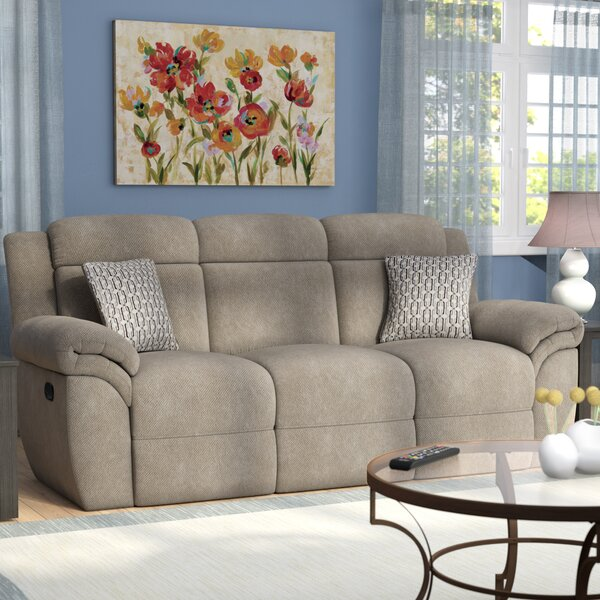 Save Big With Bilodeau Manual Motion Reclining Sofa by Red Barrel Studio by Red Barrel Studio