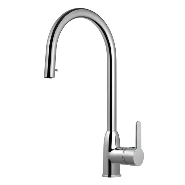 Centa Pull-down Single Handle Kitchen Faucet by Houzer