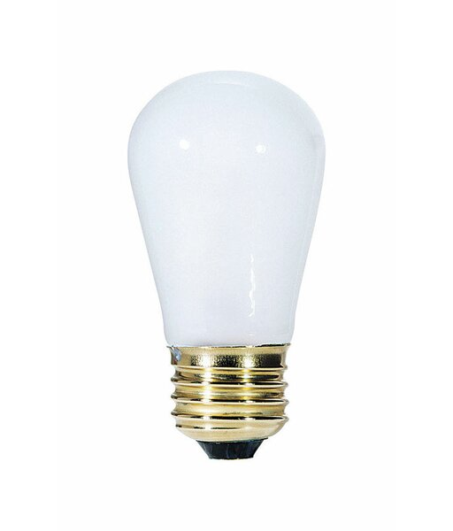 11W E26 Dimmable Incandescent Edison Light Bulb by Westinghouse Lighting