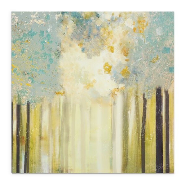 Lakeside by Susan Jill Painting Print on Wrapped Canvas by Wexford Home