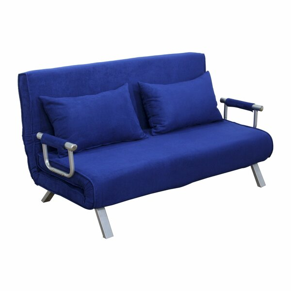 Edmund Folding Futon Sleeper Loveseat by Zipcode Design