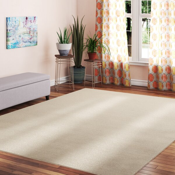 Elbeni Ivory Area Rug by Zipcode Design