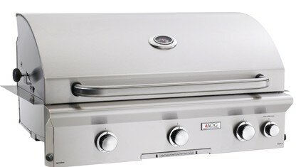 Built-In Natural Gas Grill by American Outdoor Grill