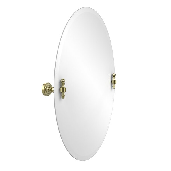 Retro Dot 21x29 Oval Tilt Mirror by Allied Brass