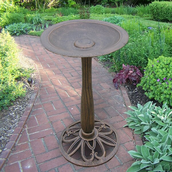 Feathers Upland Birdbath by Oakland Living