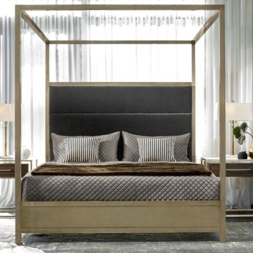 Dodsworth upholstered  Panel Bed by Mercer41