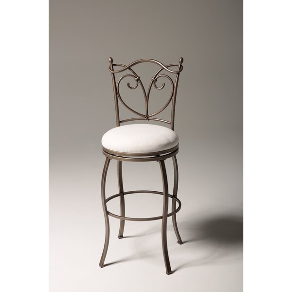 Raleigh 30 Swivel Bar Stool by Fashion Bed Group