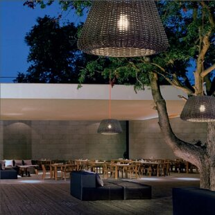 Compare & Buy Ralph 1-Light Outdoor Pendant By ZANEEN design