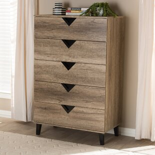Elio 5 Drawer Dresser