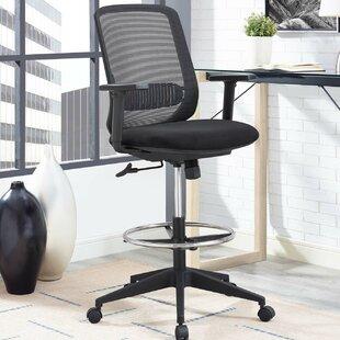 Mid Back Drafting Chairs Youu0027ll Love | Wayfair
