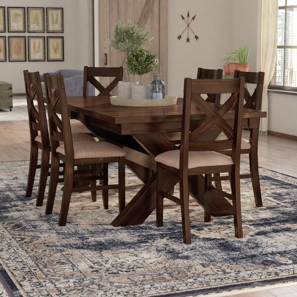 Modern Isabell 7 Piece Solid Wood Dining Set By Laurel Foundry Modern Farmhouse Read Reviews