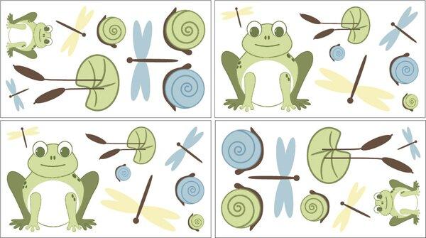 Leap Frog Wall Decal by Sweet Jojo Designs