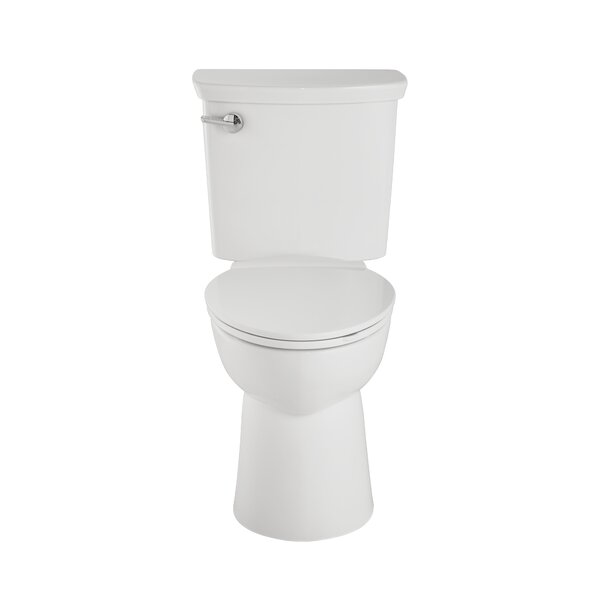 Vormax Plus Combo Dual Flush Elongated Two-Piece Toilet by American Standard