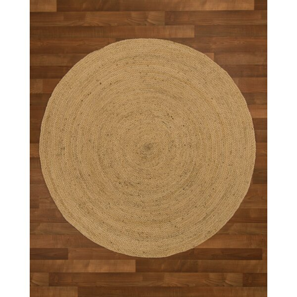 Middlebury Hand-Woven Beige Area Rug by Threadbind