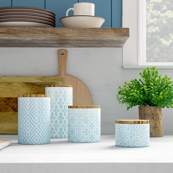 4-Piece Adelaide Canister Set by Birch Lane™
