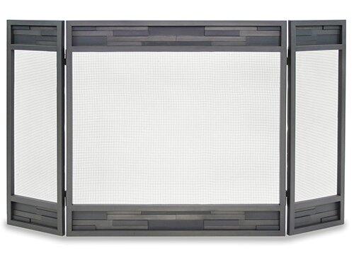 Lanier 3 Panel Iron Fireplace Screen By Pilgrim Hearth