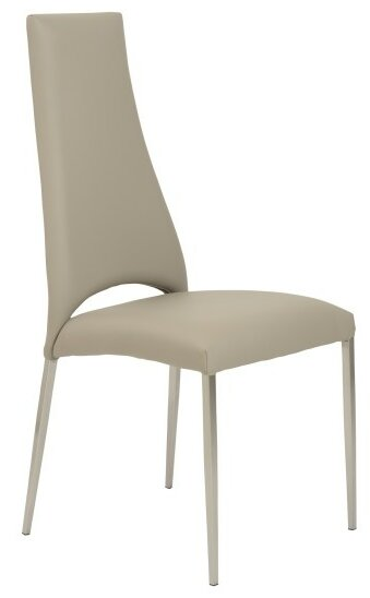 Maui Leather Upholstered Dining Chair (Set of 2) by Wade Logan