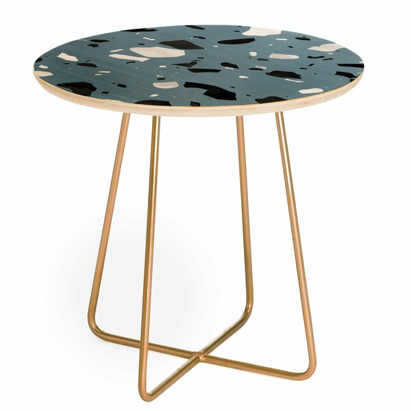 Mareike Boehmer Terrazzo Round End Table by East Urban Home