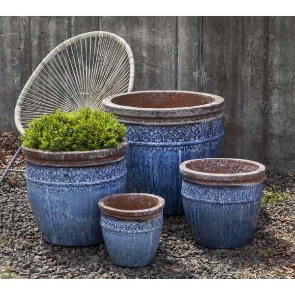 Trai 4-Piece Terracotta Pot Planter Set by Bungalow Rose