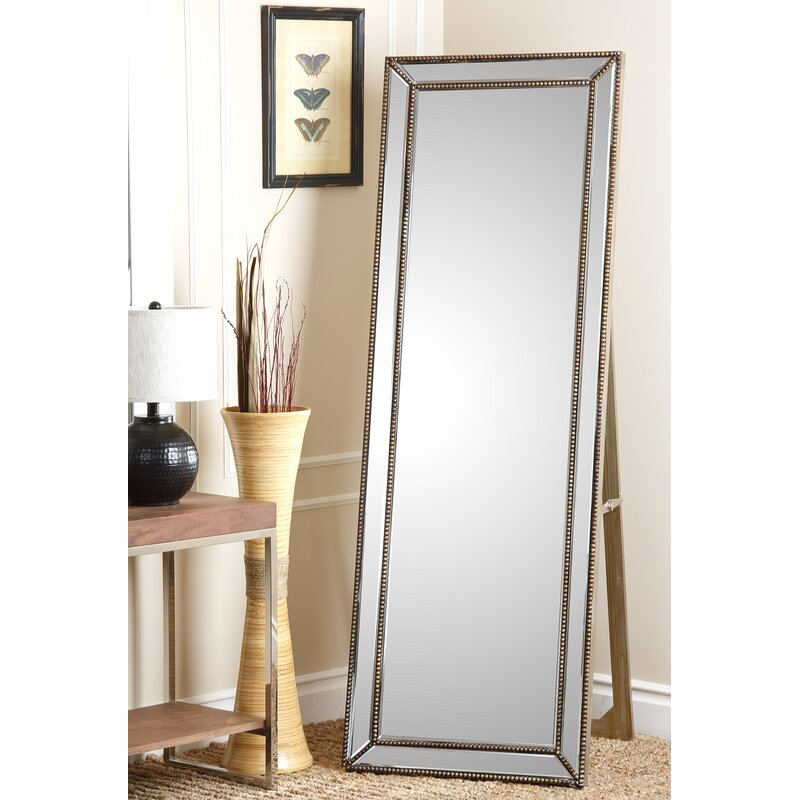 Willa Arlo Interiors Hyeon Beveled Rectangle Floor Mirror & Reviews ...