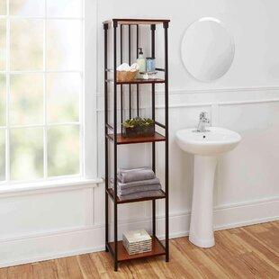 Merveilleux Free Standing Bathroom Shelving Youu0027ll Love | Wayfair